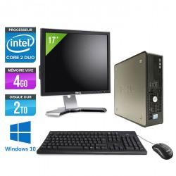 """Dell 780 SFF - Windows 10 + Ecran 17"""""""