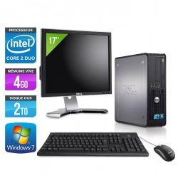 """Dell Optiplex 780 SFF + Ecran 17"""""""