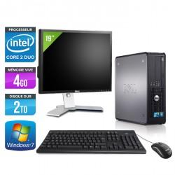 """Dell Optiplex 780 SFF + Ecran 19"""""""