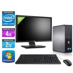 Dell Optiplex 780 SFF + Ecran 22""