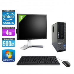 Dell Optiplex 790 SFF + Ecran 19''