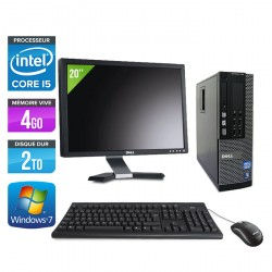 Dell Optiplex 790 SFF + Ecran 20''