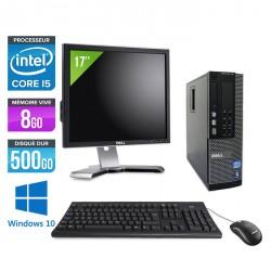 Dell Optiplex 790 SFF - Windows 10 + Ecran 17''