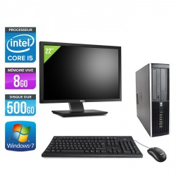 HP Elite 8100 SFF + Ecran 22''