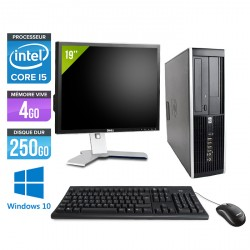 HP Elite 8200 SFF - Windows 10 + Ecran 19''