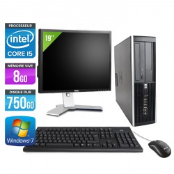HP Elite 8300 SFF + Ecran 19''