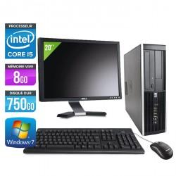HP Elite 8300 SFF + Ecran 20''