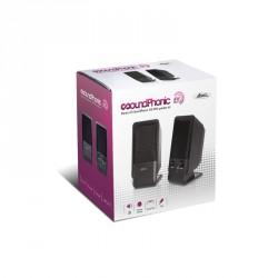 Enceintes PC - Haut-parleurs advance soundphonic SP-U800B - 4W