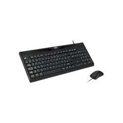 Pack clavier / souris optique filaire - Advance Starter Wired - AZERTY