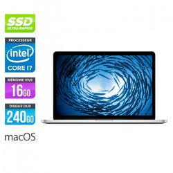 Apple MacBook Pro 15 Rétina - MacOs