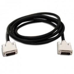 Câble DVI-D vers DVI-D - Single Link - Male / Male - 1.50m