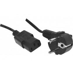 Câble Alimentation Secteur - 1.80m - Noir
