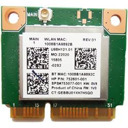 Carte WIFI Bluetooth Realtek - HP ProBook 450 G2 - 752601-001