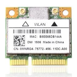 Carte WIFI Dell Wireless DW1506 - Carte mini PCI Express - MNRG4