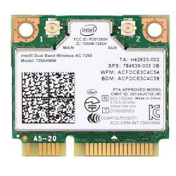 Carte WIFI Intel Dual-Band sans fil - 7260HMW