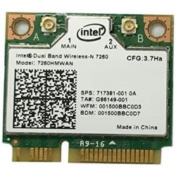 Carte WIFI Intel Dual-Band Wireless-N - 7260HMW AN