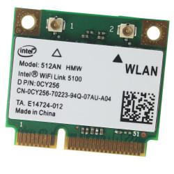 Carte WIFI Intel Wireless 5100 WLAN - 512AN-HMW