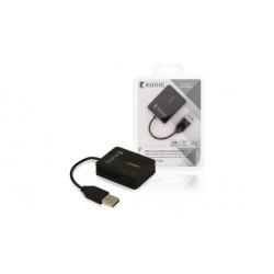 Lecteur de carte mémoire - USB Konig