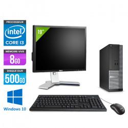 """Dell Optiplex 3020 SFF - Windows 10 + Écran 19"""""""