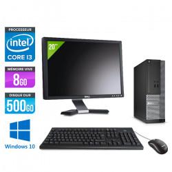 """Dell Optiplex 3020 SFF - Windows 10 + Écran 20"""""""