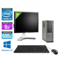 Dell Optiplex 7010 SFF - Windows 10 + Ecran 19''