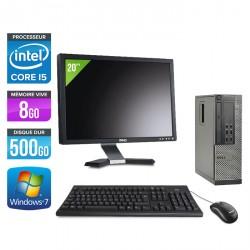 Dell Optiplex 7010 SFF + Ecran 20''