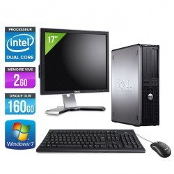 Dell Optiplex 780 Desktop + Ecran 17""