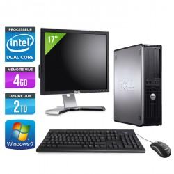 """Dell Optiplex 780 Desktop + Ecran TFT 17"""""""