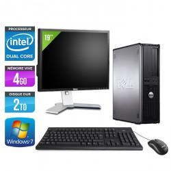 """Dell Optiplex 780 Desktop + Ecran TFT 19"""""""