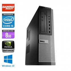 Dell Optiplex 790 Desktop - Gamer - Windows 10