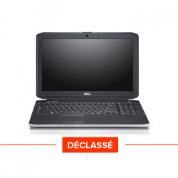 Dell Latitude E5530 - Windows 10 - Déclassé