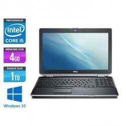 Dell Latitude E6520 - Windows 10
