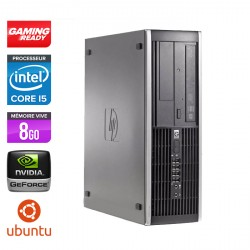HP Elite 8100 SFF - Gamer - Ubuntu / Linux