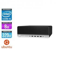 HP ProDesk 600 G3 SFF - Ubuntu / Linux