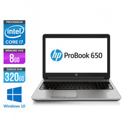 HP Probook 650 G1 - Windows 10
