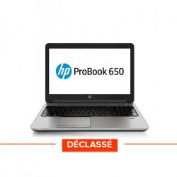 HP Probook 650 G1 - Windows 10 - Déclassé