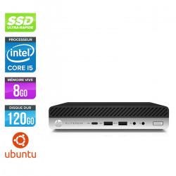 HP EliteDesk 800 G4 DM - Ubuntu / Linux