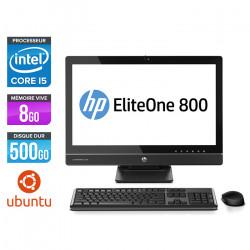 PC Tout-en-un HP ProOne 800 G1 AiO - Ubuntu / Linux