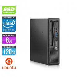 HP EliteDesk 800 G1 USFF - Ubuntu / Linux