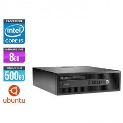 HP EliteDesk 800 G2 SFF - Ubuntu / Linux