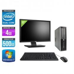 HP Elite 8200 SFF + Ecran 22''