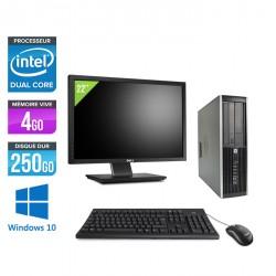 HP Elite 8300 SFF + Ecran 22'' - Windows 10