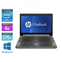 HP EliteBook 8560W - Windows 10