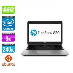 HP EliteBook 820 G1 - Ubuntu / Linux