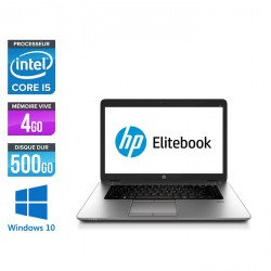 HP EliteBook 850 G1 - Windows 10
