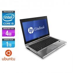 HP EliteBook 2560P - Ubuntu / Linux