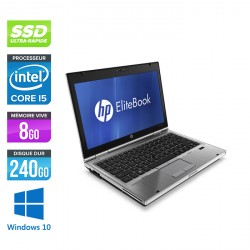 HP EliteBook 2560P - Windows 10