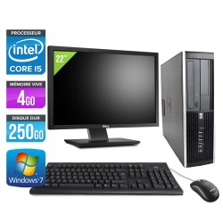 HP Elite 8200 SFF + Ecran 22''