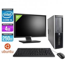 HP Elite 8200 SFF - Ubuntu / Linux + Ecran 22''