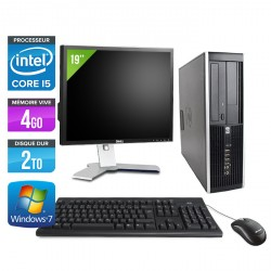 HP Elite 8200 SFF + Ecran 19''